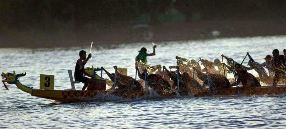 Musi Triboatton, a Boat Race in Musi River South Sumatra