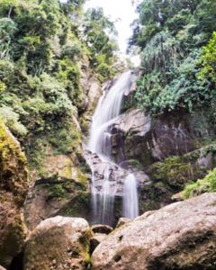 Lubuk Hitam Waterfall in Bukit Barisan | Indonesia Travel 1