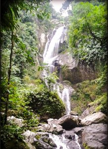 Lubuk Hitam Waterfall in Bukit Barisan | Indonesia Travel 2