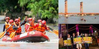 Musi Triboatton boat race south sumatra